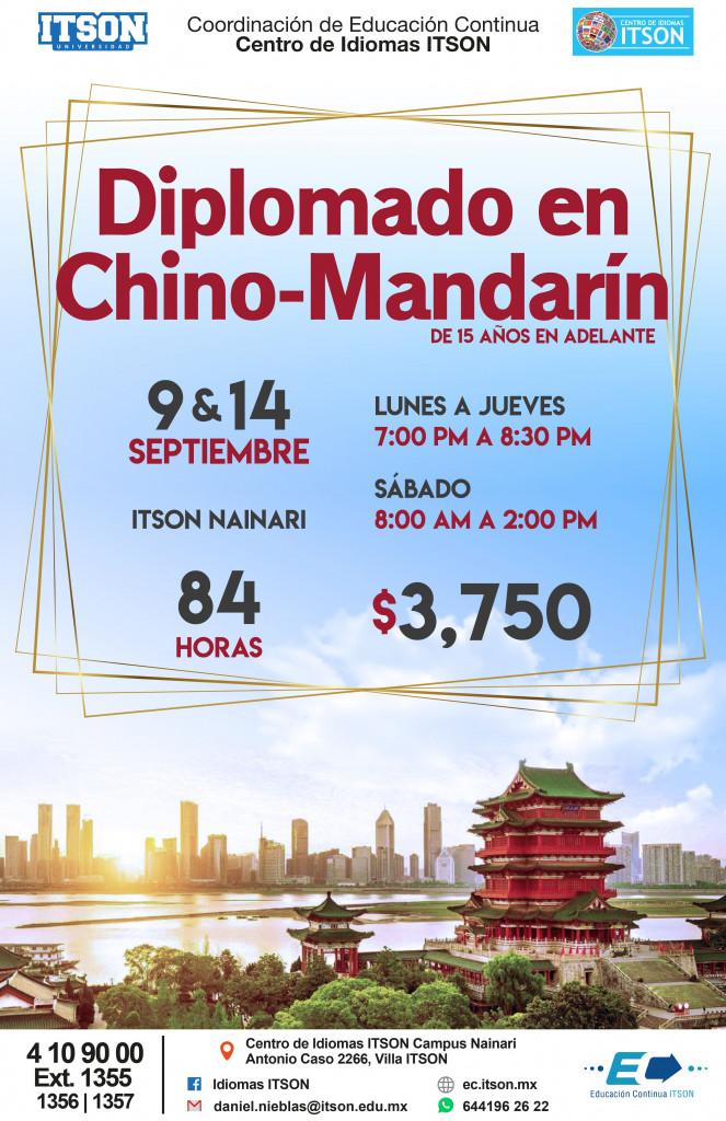 Chino Mandarin Ago 2019