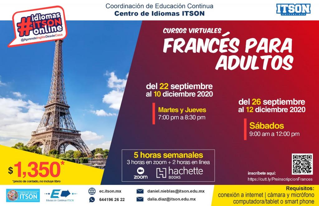 Curso de Francés Sep-Dic 2020
