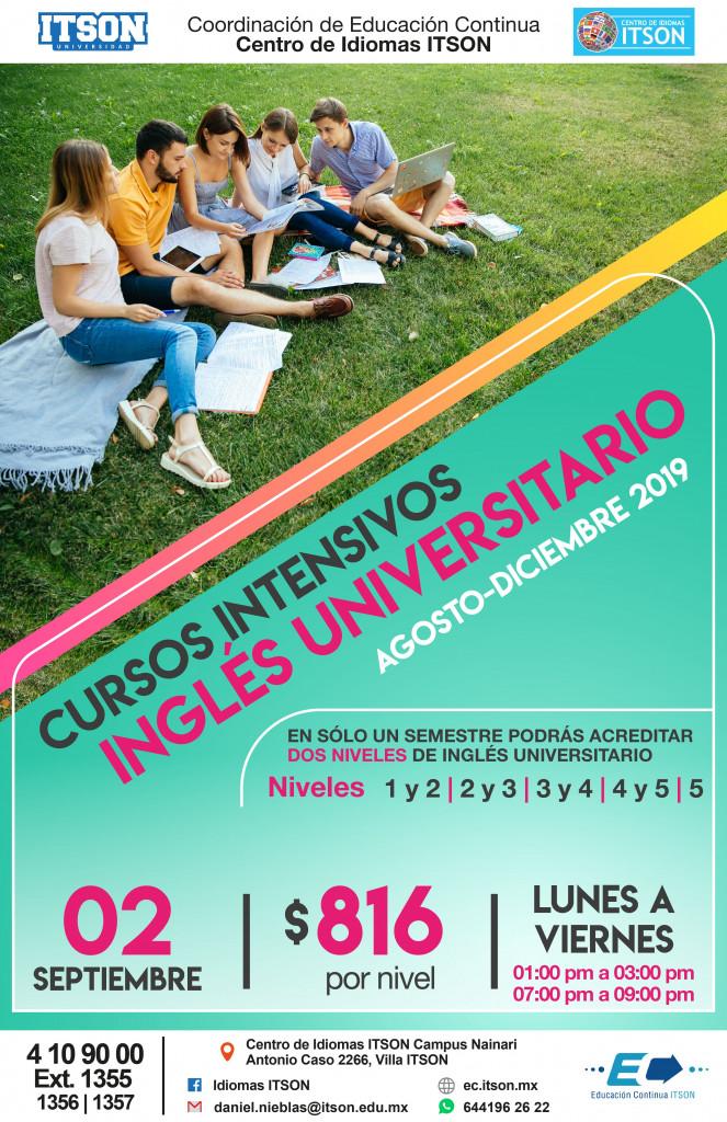 Inglés Avanzado Ago 2019