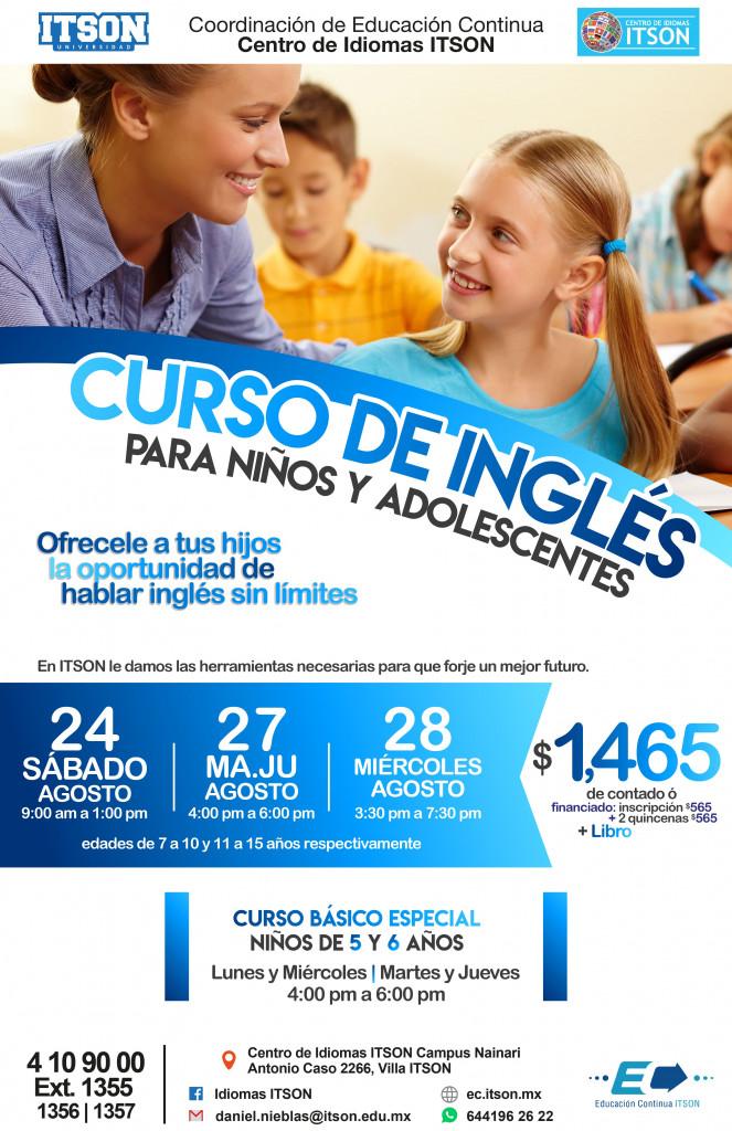 Inglés Infantil Ago 2019