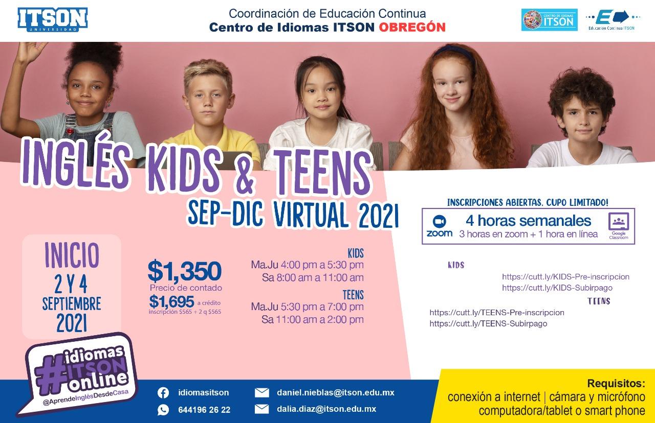 Inglés Kids y Teens