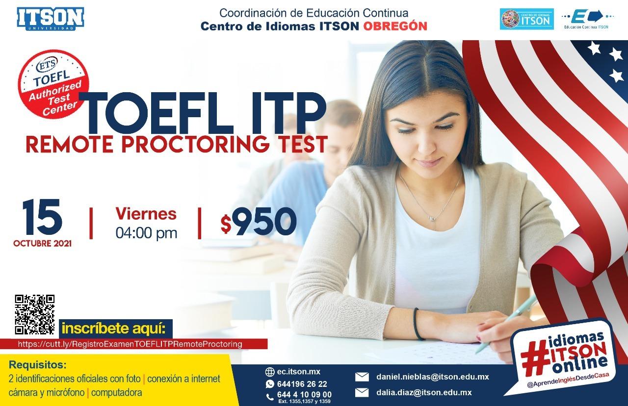 TOEFL ITP Octubre
