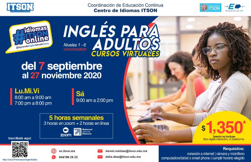 Inglés Infantil Agosto - Diciembre 2020