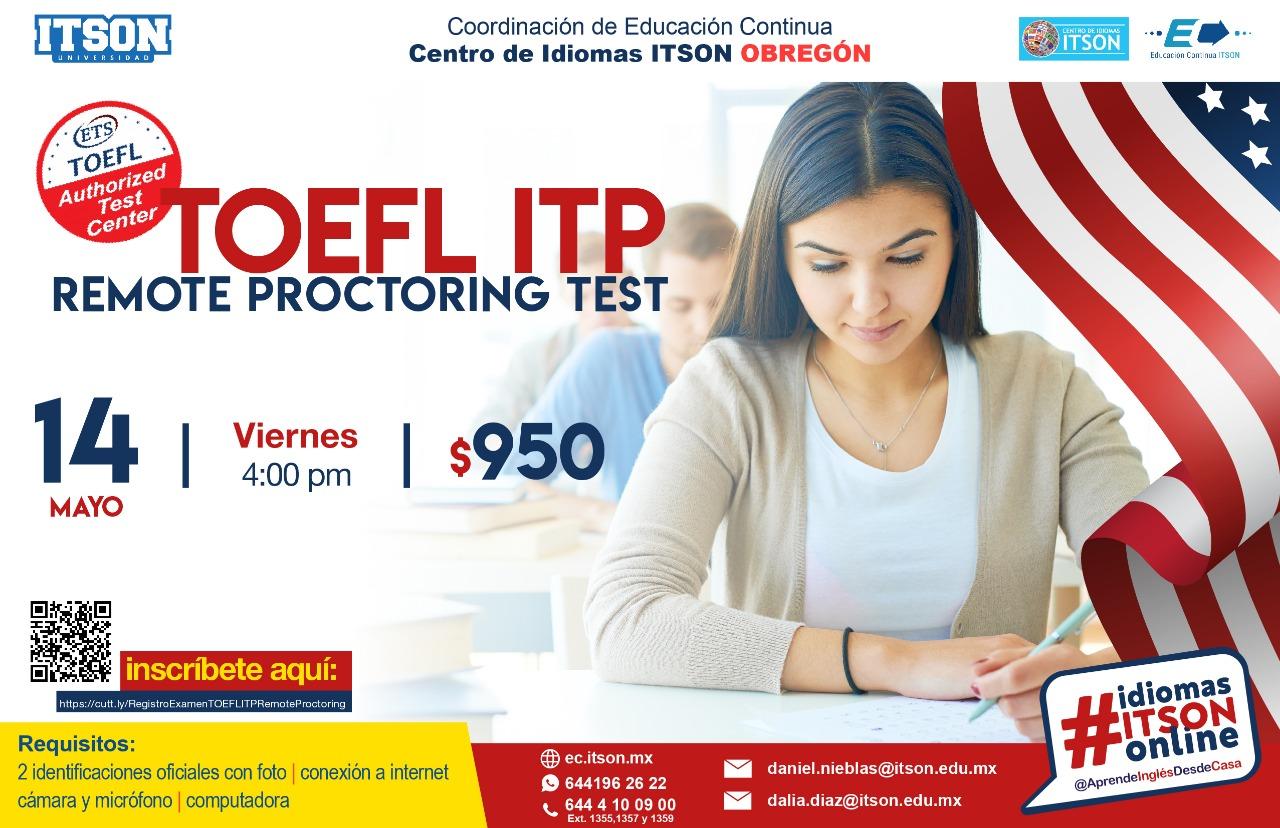 TOEFL ITP 2021